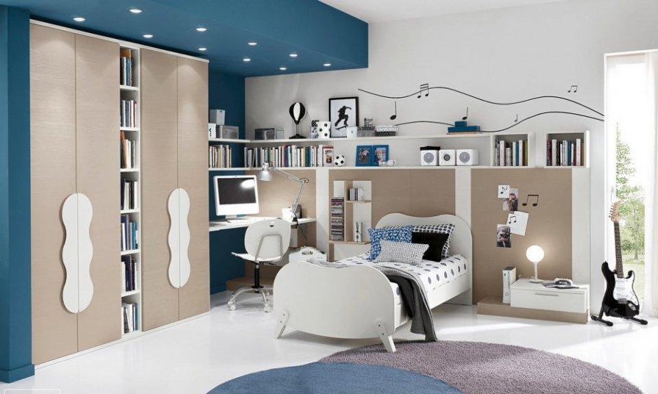صور اجمل غرف النوم , غرف نوم شبابيه عمليه