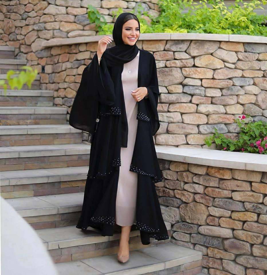 بالصور اشيك ملابس محجبات , احدث صيحه ملابس المحجبات 2019 722 10