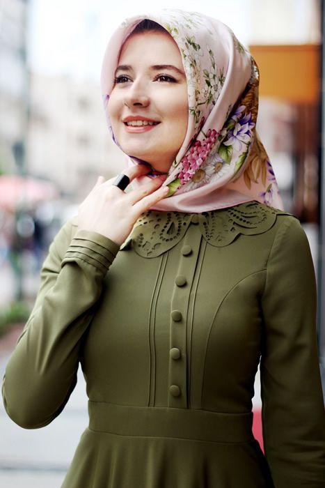 بالصور اشيك ملابس محجبات , احدث صيحه ملابس المحجبات 2019 722 5