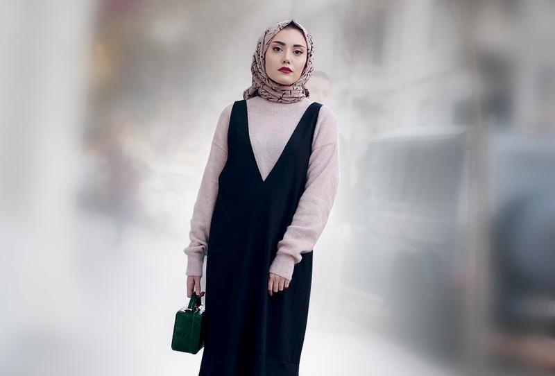 بالصور اشيك ملابس محجبات , احدث صيحه ملابس المحجبات 2019 722 8