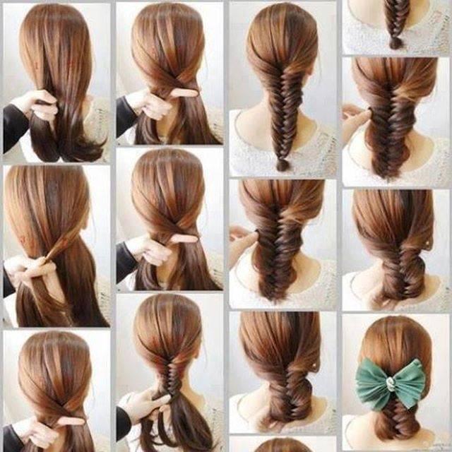 صور تسريحات شعر بنات كبار , موضات الضفائر للفتيات