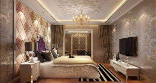 صور جبس غرف نوم , احدث تشكيلات للجبسمورد مناسب لغرف النوم