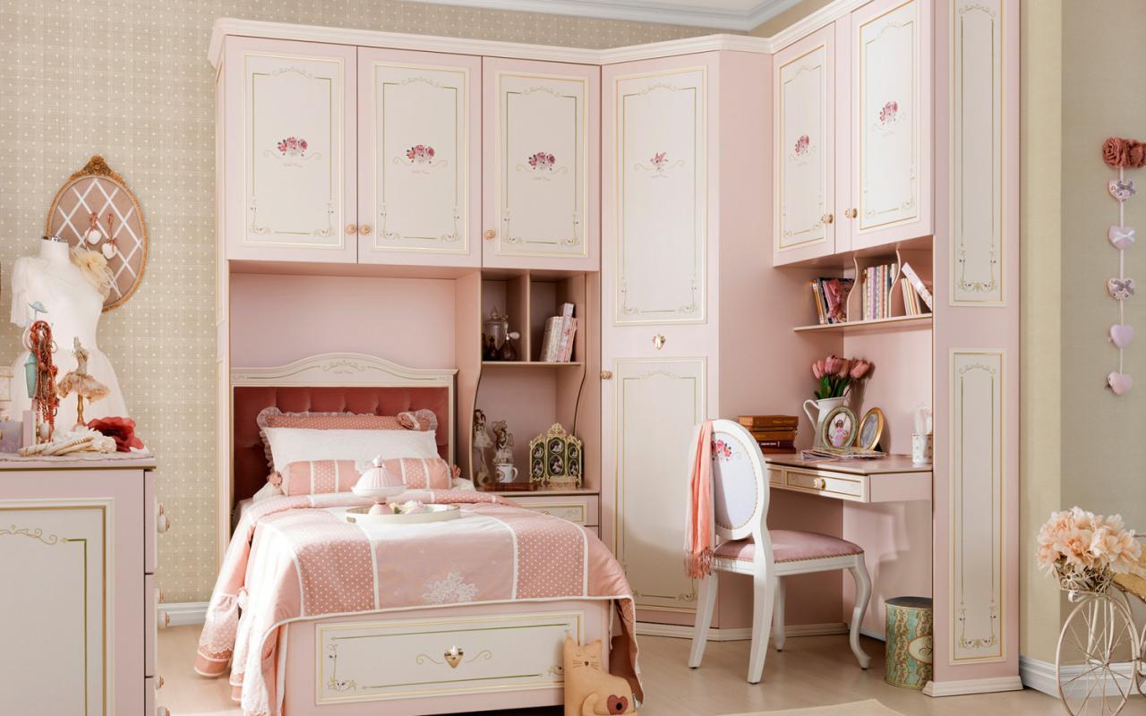 صورة صور غرف نوم بنات , افكار لغرفه نوم الفتيات