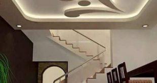 صور جبس اسقف صالات , ديكورات رائعه من الجبس