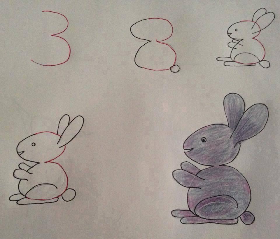 بالصور رسومات جميلة وسهلة , كيف اعلم ابني الرسم 993 2