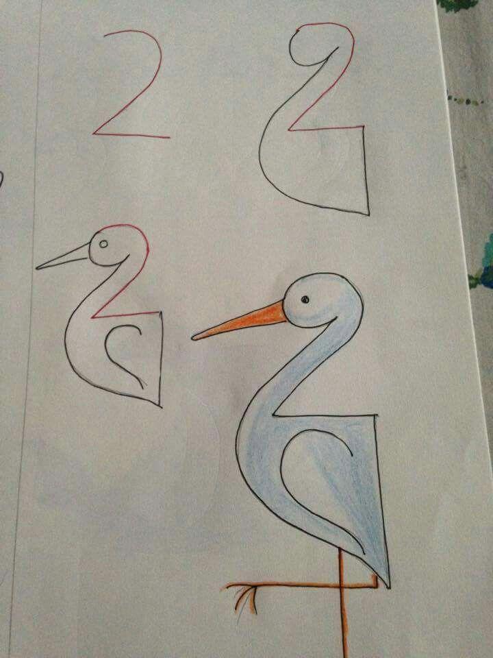 بالصور رسومات جميلة وسهلة , كيف اعلم ابني الرسم 993 3