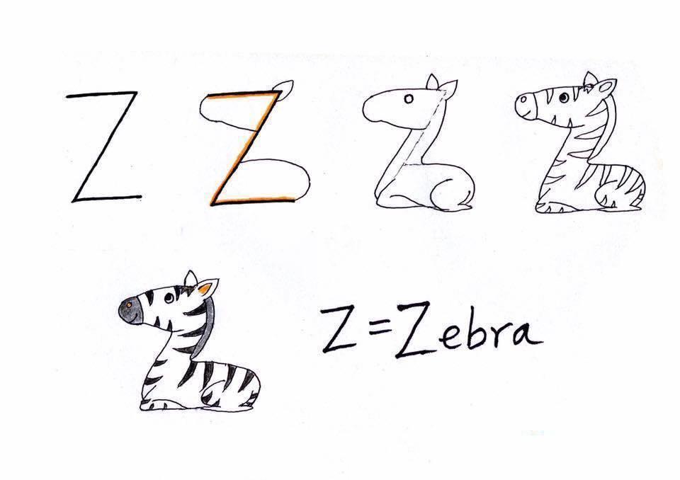 بالصور رسومات جميلة وسهلة , كيف اعلم ابني الرسم 993 4