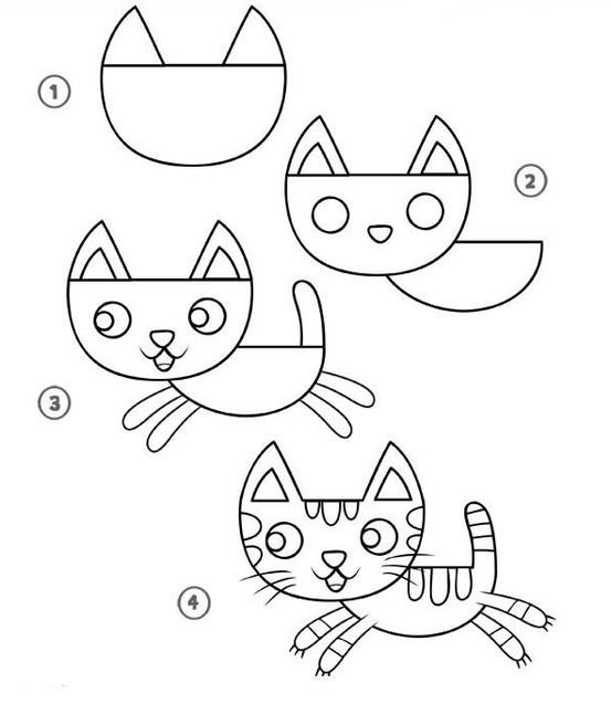 بالصور رسومات جميلة وسهلة , كيف اعلم ابني الرسم 993 7