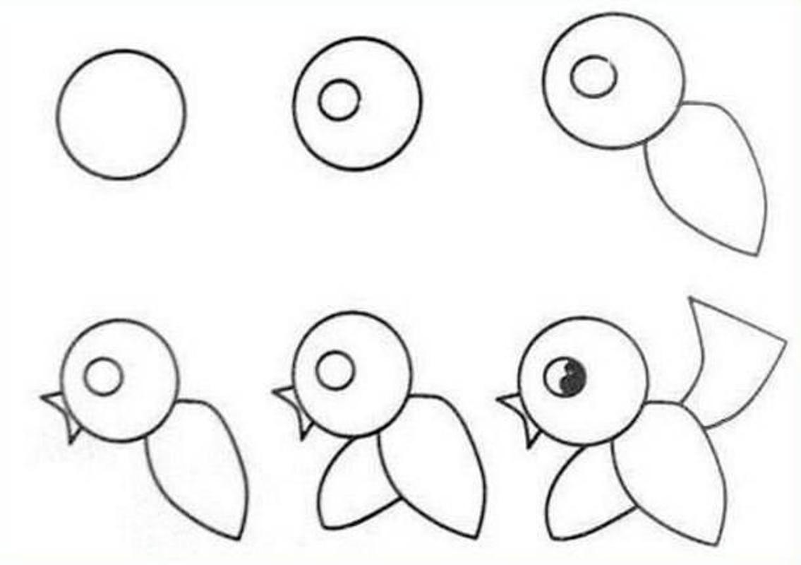 بالصور رسومات جميلة وسهلة , كيف اعلم ابني الرسم 993 8