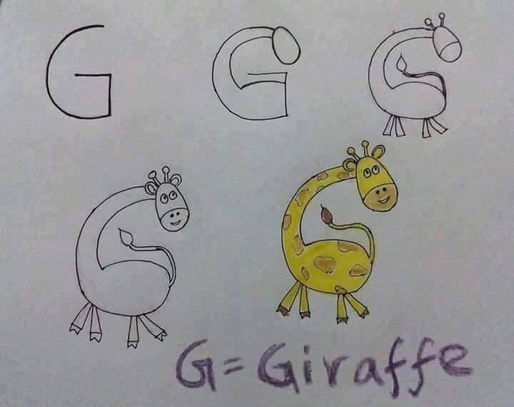 بالصور رسومات جميلة وسهلة , كيف اعلم ابني الرسم 993