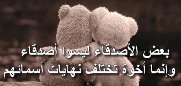بالصور شعر عن الصديق الحقيقي , كلمات رائعه عن الصداقه 998 5