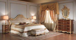 صور غرف نوم كلاسيك , غرف نوم بتصميمات فخمه