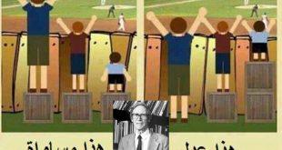 صور الفرق بين العدل والمساواة , كيف افرق بين مفهومى العدل والمساواه