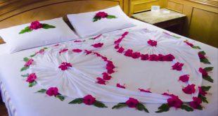 صور افكار لتزيين غرفة النوم للمتزوجين بالصور , ابتكارات جديده رومانسيه لاوضة نوم الازواج