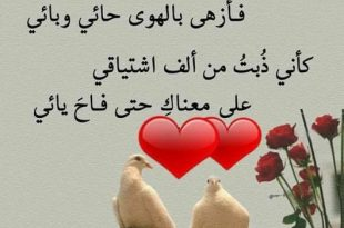 صور قصيدة حب للحبيب , غزل وغرام وعشق بالكلمات