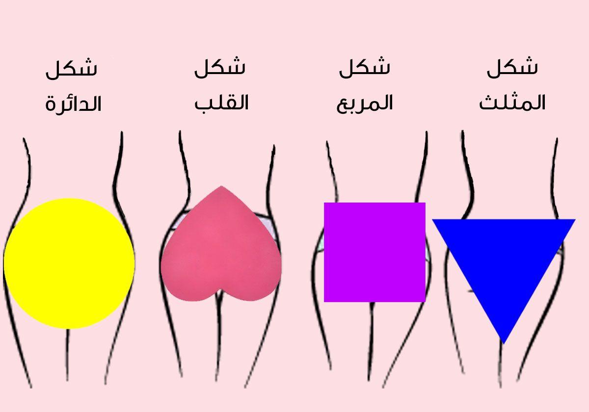 صورة شكل مؤخرات النساء , انواع مؤخرات النساء
