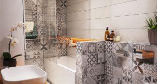 صور تصاميم حمامات صغيرة , احدث ديكورات حمامات ضيقة