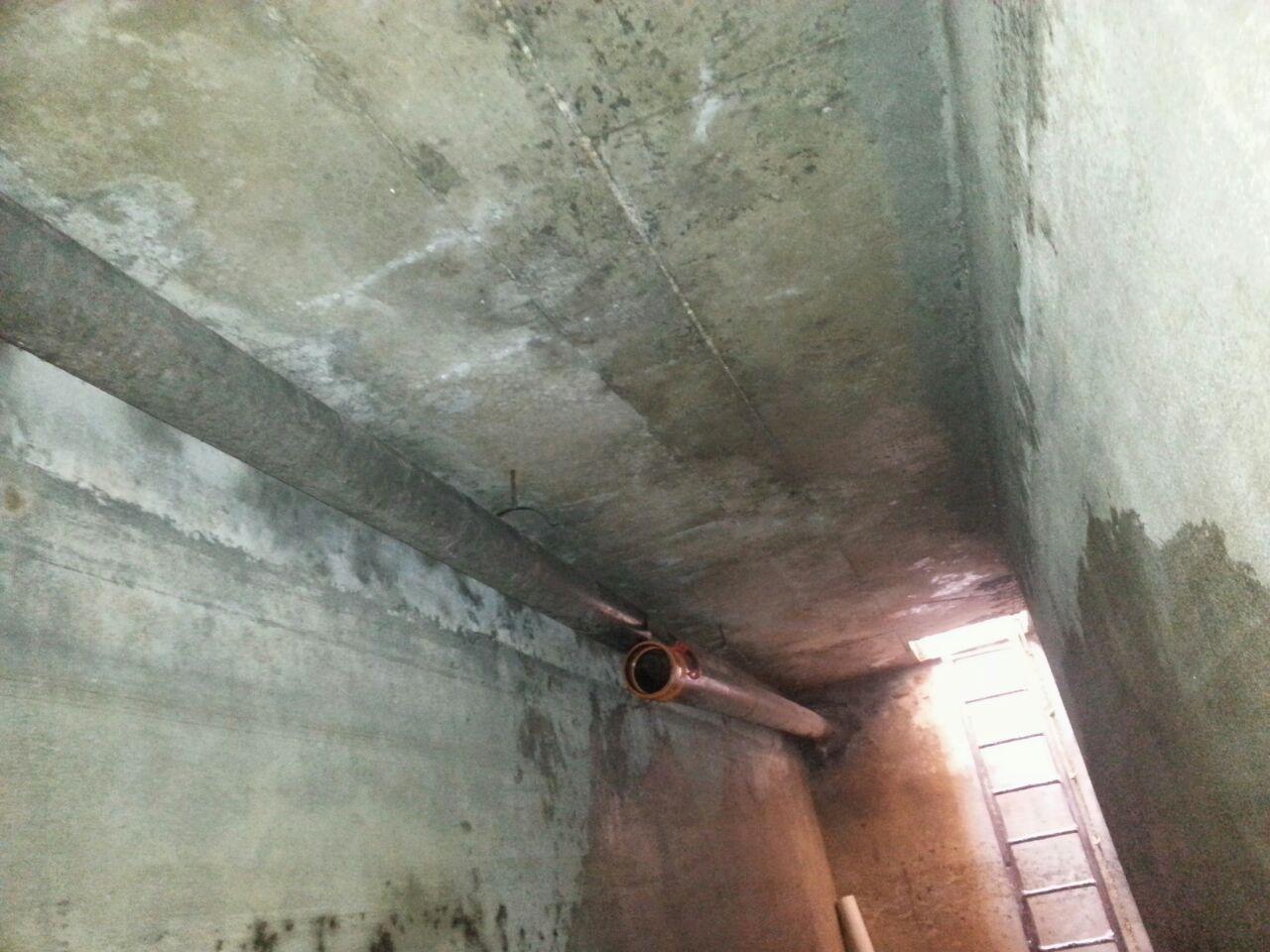 صور تسرب المياه من السقف , حل المشكله