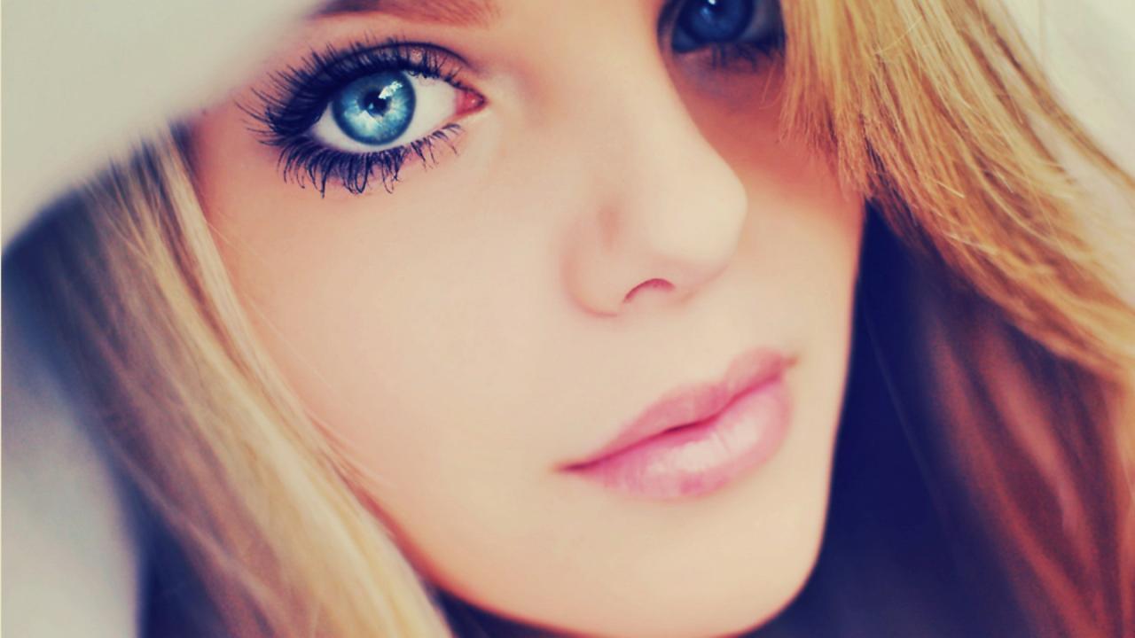 صورة صور بنات عيون زرقاء , احلي و اجمل صور بنات ذات عيون زرقاء