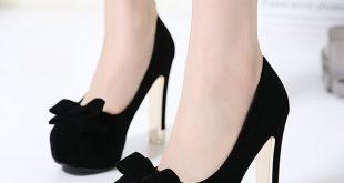 صورة احذية كعب , جزم كعب عالي للنساء