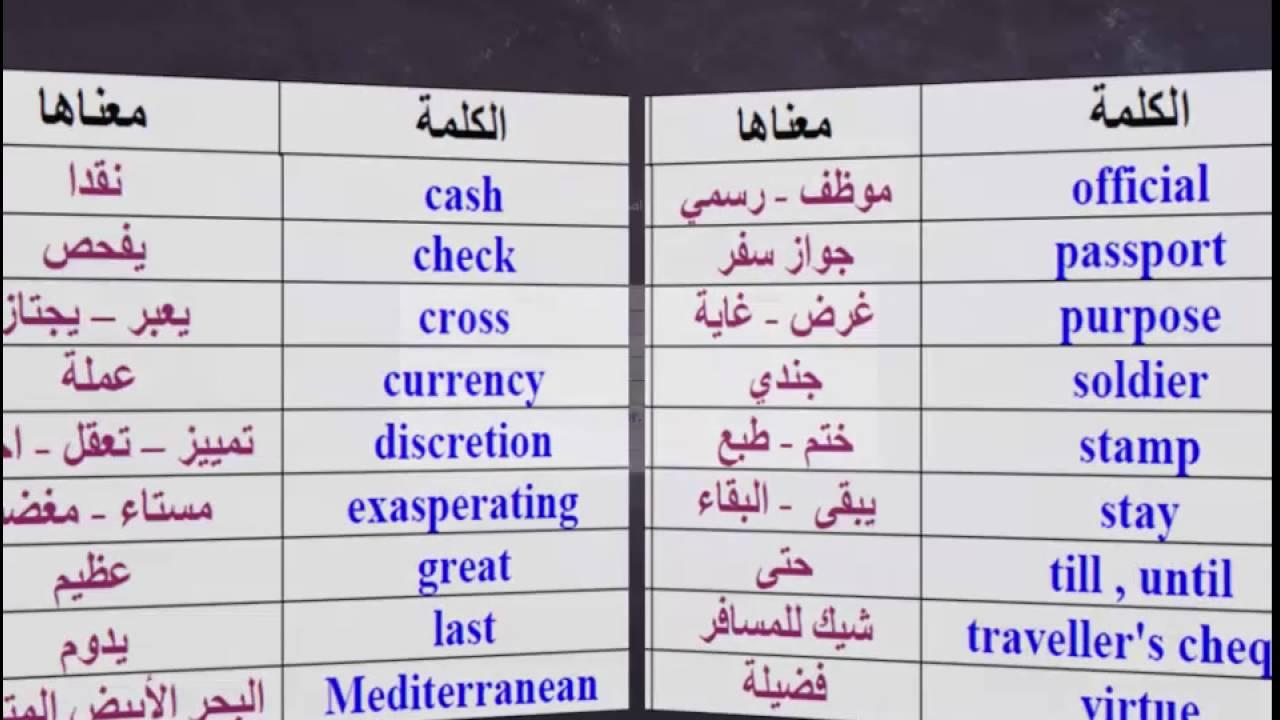صور كلمات انجليزيه , مفردات باللغة الانجليزيه