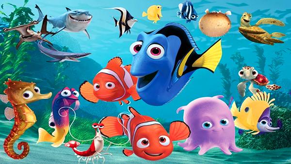 كرتون السمكة نيمو مدبلج