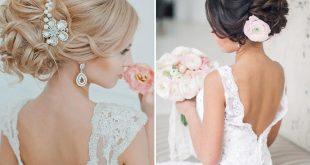 صورة تسريحه عروس , اجمل تصفيفات شعر العروسه