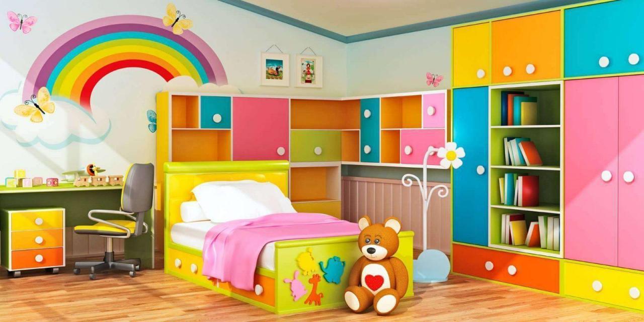 صورة غرف اطفال مودرن , موديلات اوض للصغار عصريه