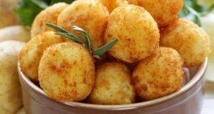 صور طريقة عمل كرات البطاطس , وصفة اعداد كرات البطاطس مقليه