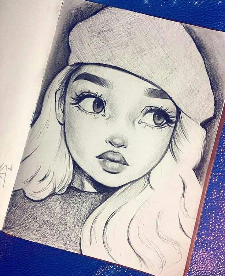 رسومات بنات سهله اجمل رسم فتيات بسيط المنام