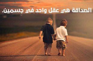صورة شعر عن حب الصداقه , اجمل ما قيل عن الصداقة