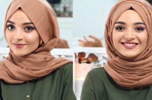 صور لف حجاب 2019 , اجمل لفات الحجاب