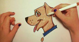 صورة صورة كلب كرتوني , اجمل و احلي صور كلب انمي