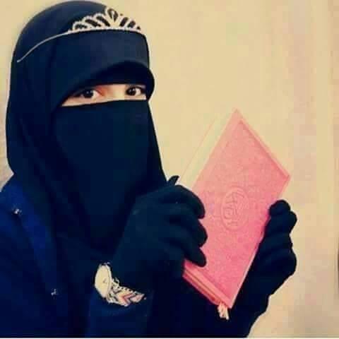 صورة صور بنات منقبات , النقاب يصون المراءه