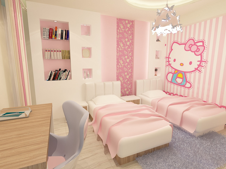 صورة غرف مراهقات كيوت جدا غرف اطفال بنات 4174 4