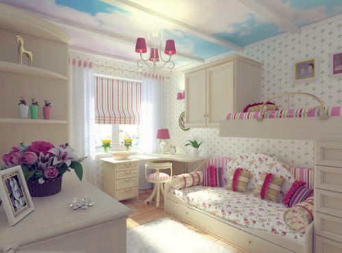 صورة غرف مراهقات كيوت جدا غرف اطفال بنات 4174 9